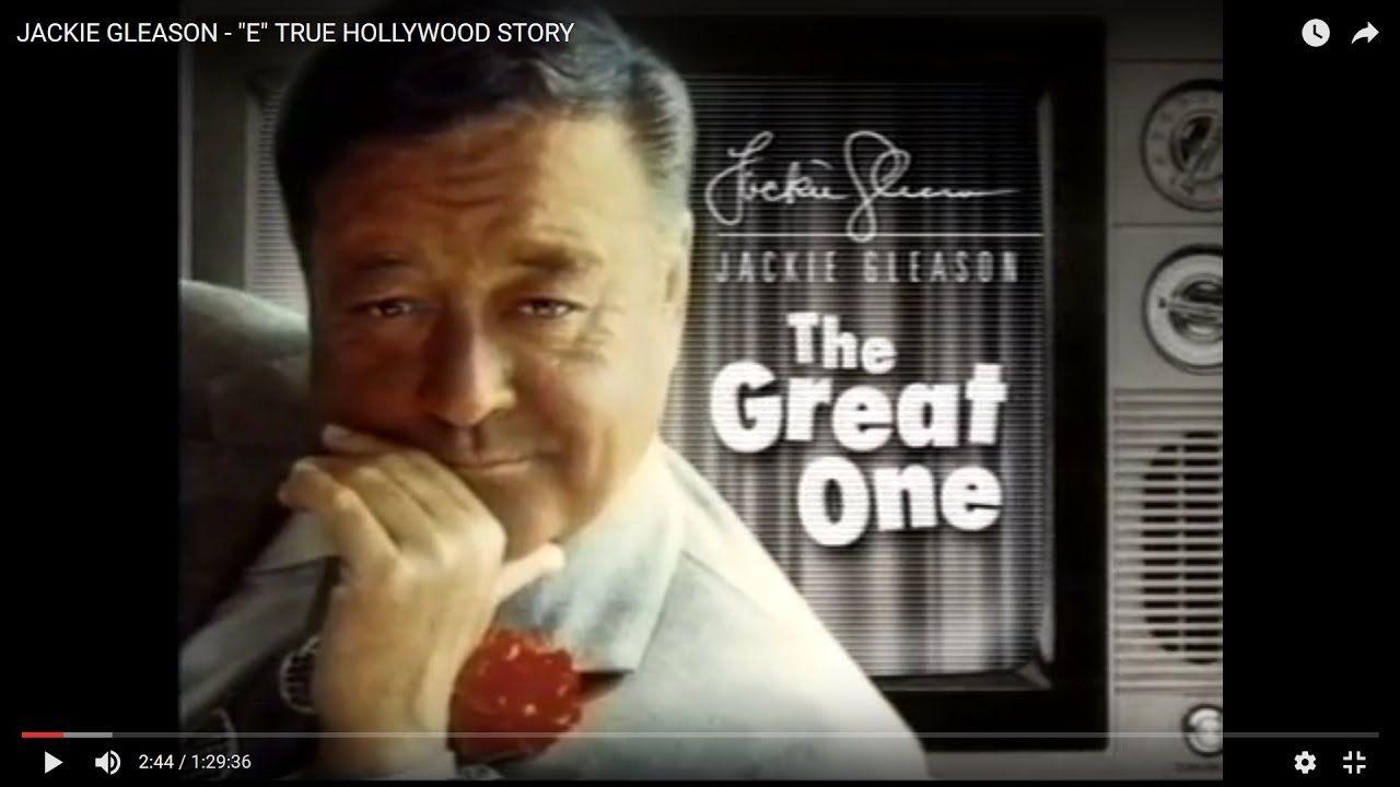 "JACKIE GLEASON  - ""E"" TRUE HOLLYWOOD STORY [383]"