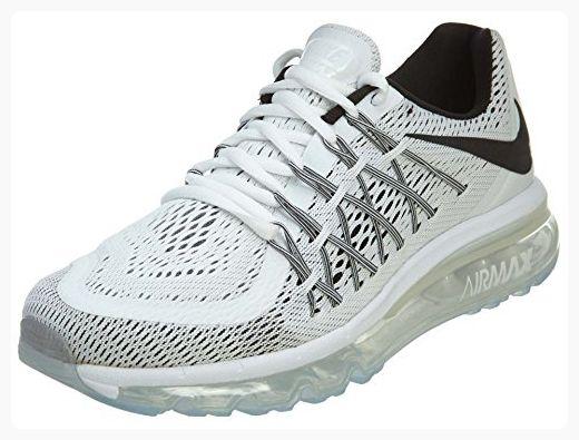 buy popular 53c81 1f8b2 Nike Womens Air Max 2015 WhiteBlack Mesh Running Shoes 5 M US (Partner  Link)
