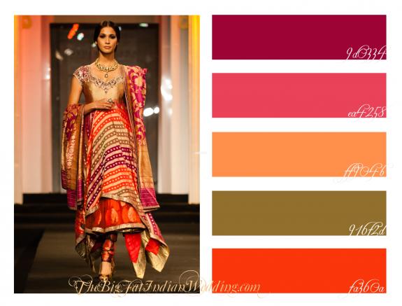 Autumn Sherbert {Color Palette Monday} #colorpalettecopies