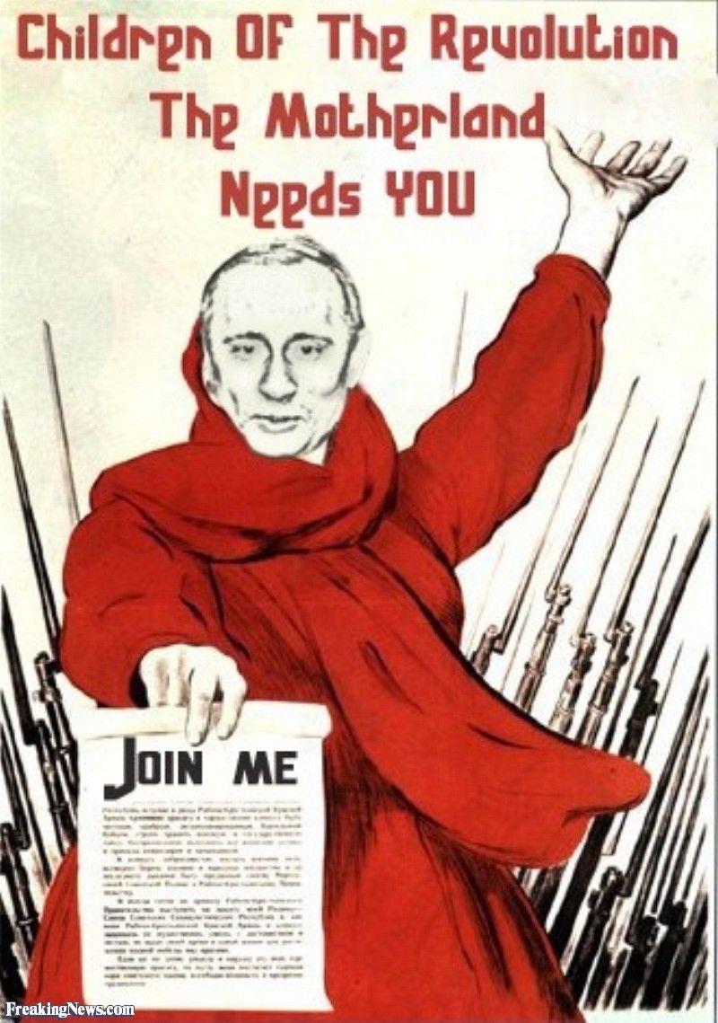 Vladimir Putin Propaganda Posters Political Posters Propaganda