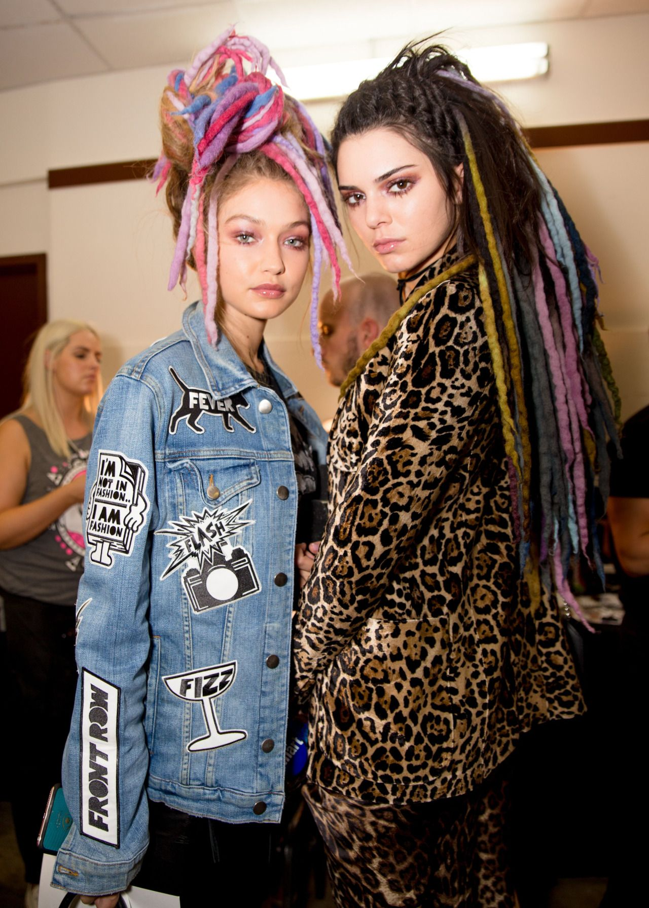 Backstage at Marc Jacobs, Spring/Summer 2017   NYFW
