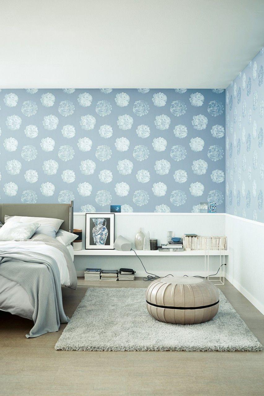 Tapeten Schlafzimmer Schoner Wohnen Luxury Vliestapete Bloom Home Decor Decor Home