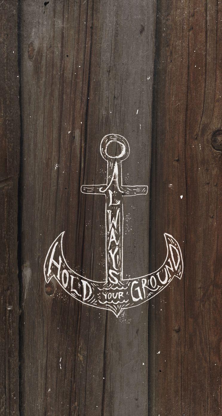Anchor Anchors Wallpaper Mobile Ocean Sea Oceanave Bigcartel Com Papeis De Parede Legais Papeis De Parede Do Telefone Celular Papel De Parede Do Telefone