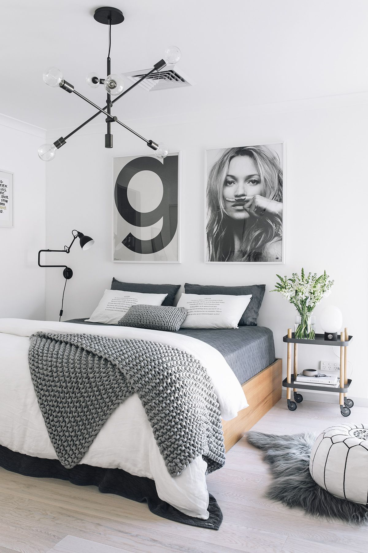 Grey And White Bedroom Normann Copenhagen Block Side Table Available At Www Istome Co Uk Remodel Bedroom Bedroom Design Bedroom Interior