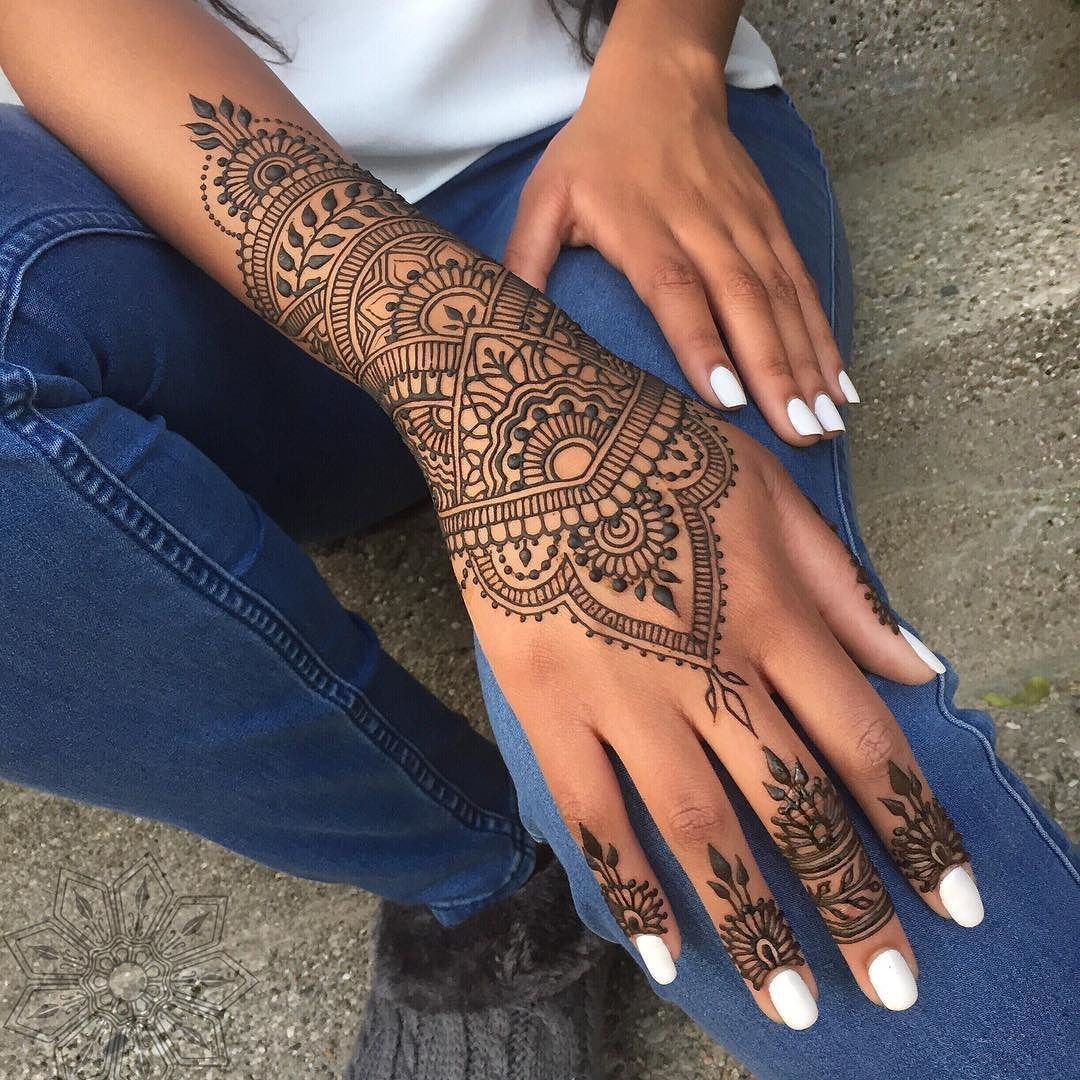 tbt open leaves...and closed leaves... happy Thursday! #hennadesigns