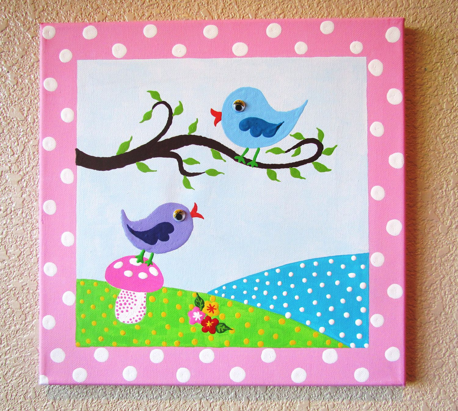 canvas painting ideas for kids - Picture Painting For Kids