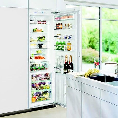 Fully integrated refrigerator from @liebherrhomus featuring BioFresh technology to keep food fresh longer. See more details on Modenus: #LiebherrOnModenus