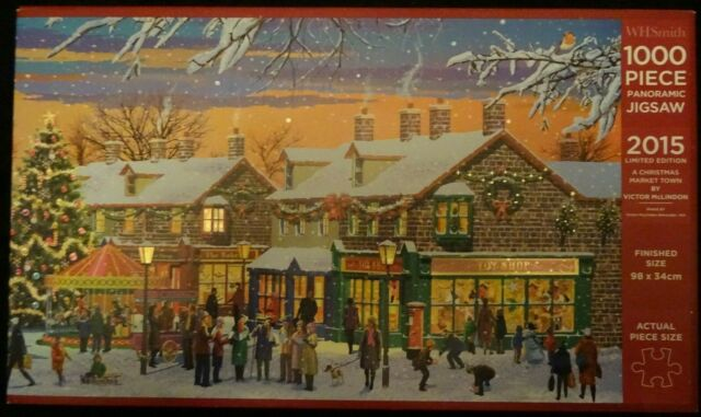 Limited Edition 'A Christmas Market Town', 1000 piece