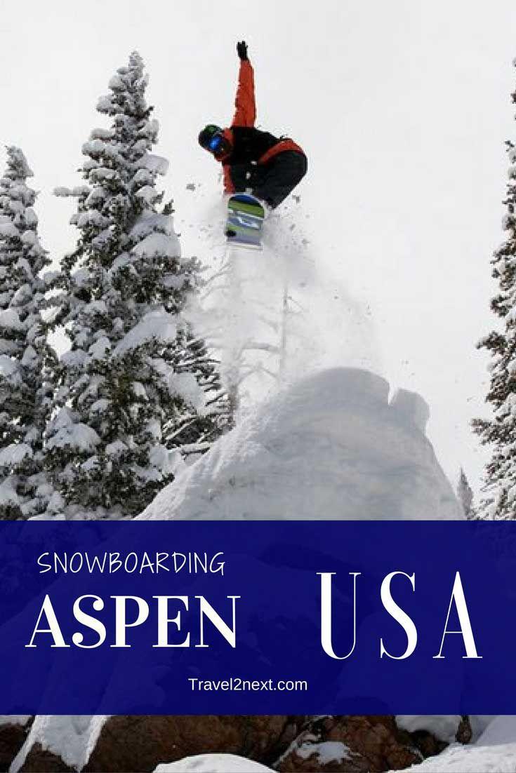 Snowboarding in aspen usa usa travel destin ations usa