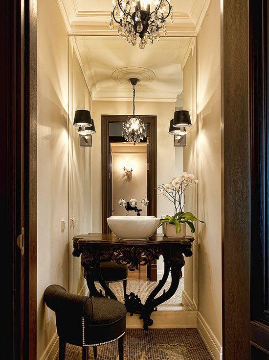 Full Length Mirror bath Design