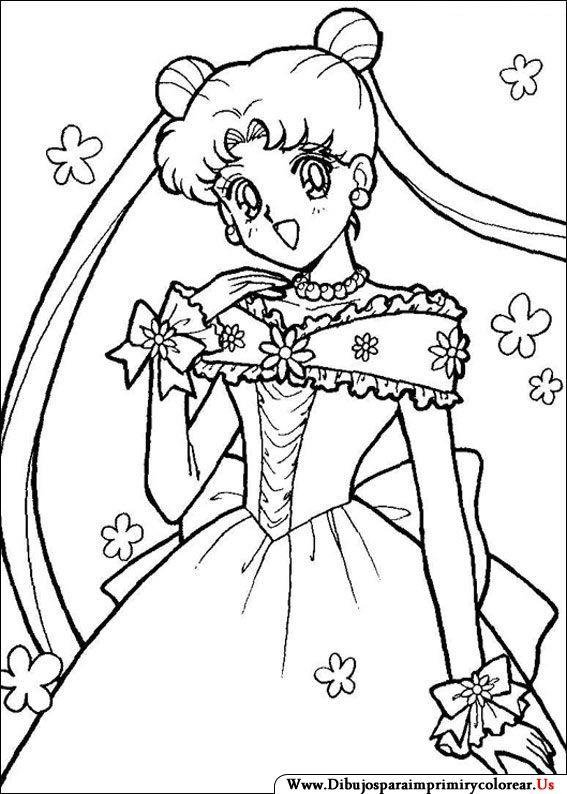Dibujos de Sailor Moon para Imprimir y Colorear | Dibujos ...