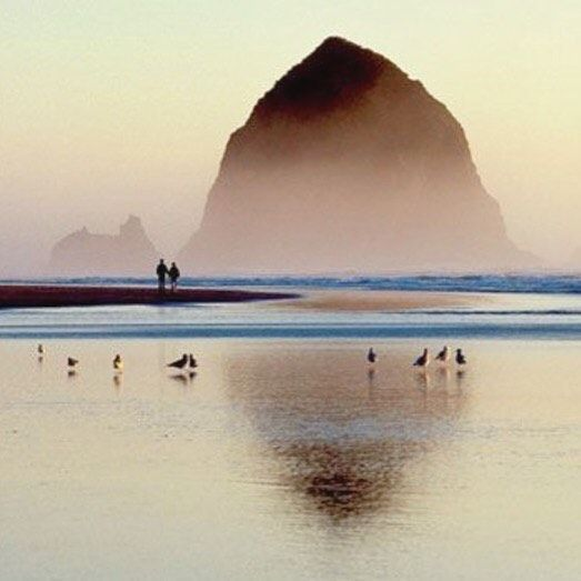 Cannon Beach Oregon.  I spent every summer vacation here as a kid.  So many awesome memories.  #cannonbeach #pnw #oregoncoast #haystackrock