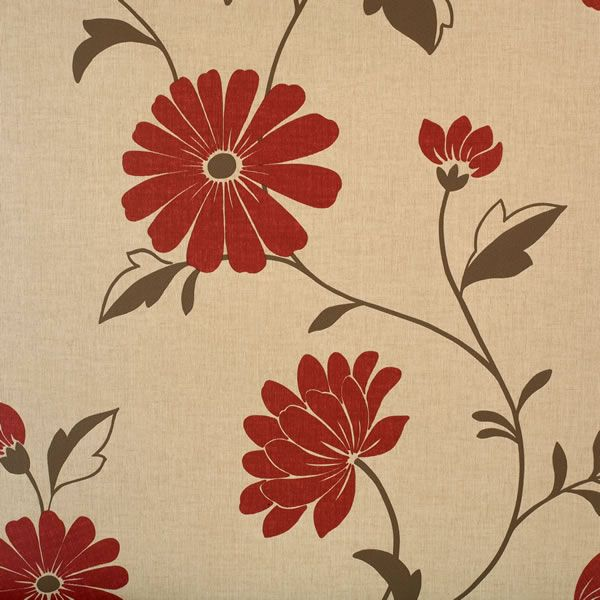 Arthouse Opera Chelsea Textured Wallpaper Red 405403