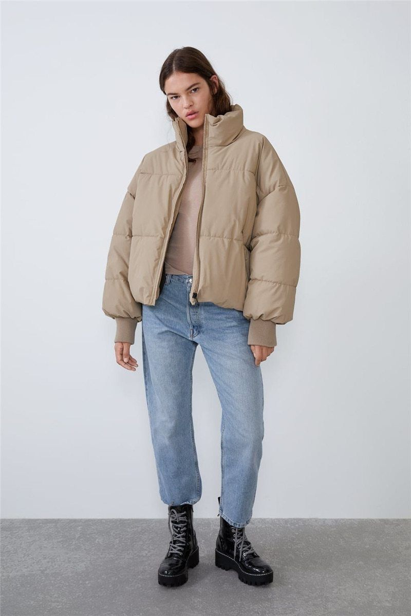 Bubble Puffer Jacket In 2021 Puffer Jacket Outfit Oversized Puffer Jacket Oversized Puffer [ 1200 x 800 Pixel ]