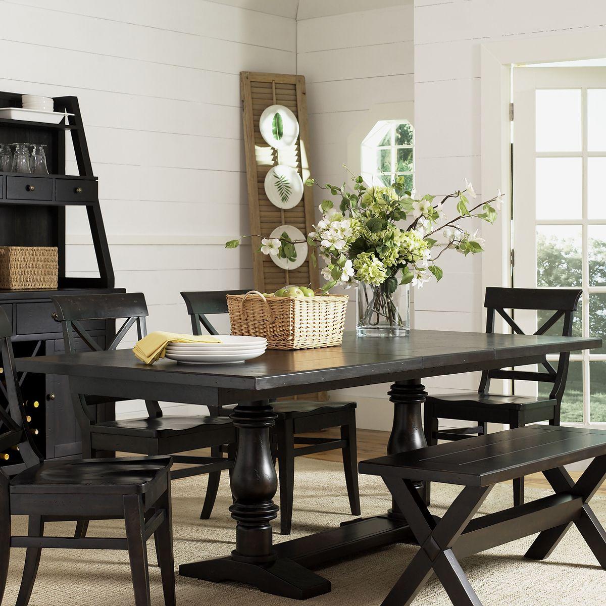 Liberty Furniture 126 Pt4084 Sundance Lake Trestle Dining Table