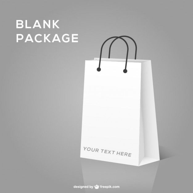 Download Shopping Bag Realistic Mock Up Free Graphic Design Vector Free Bag Mockup