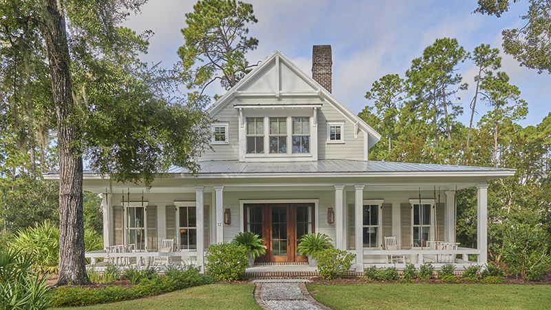 A Two Story Single Family Residence That Features Generous Bedroom Suites And Private Guest Sui Southern House Plans House Plans Farmhouse Cottage House Plans