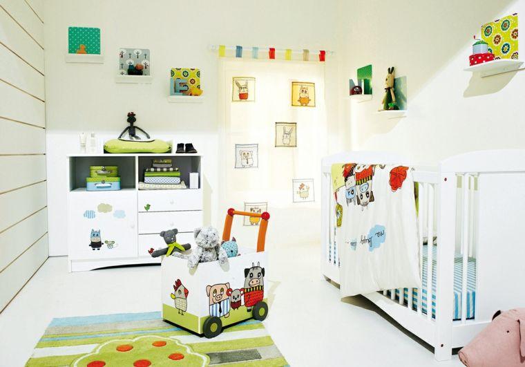 Décoration murale chambre bébé pour la création d\u0027une ambiance spéciale