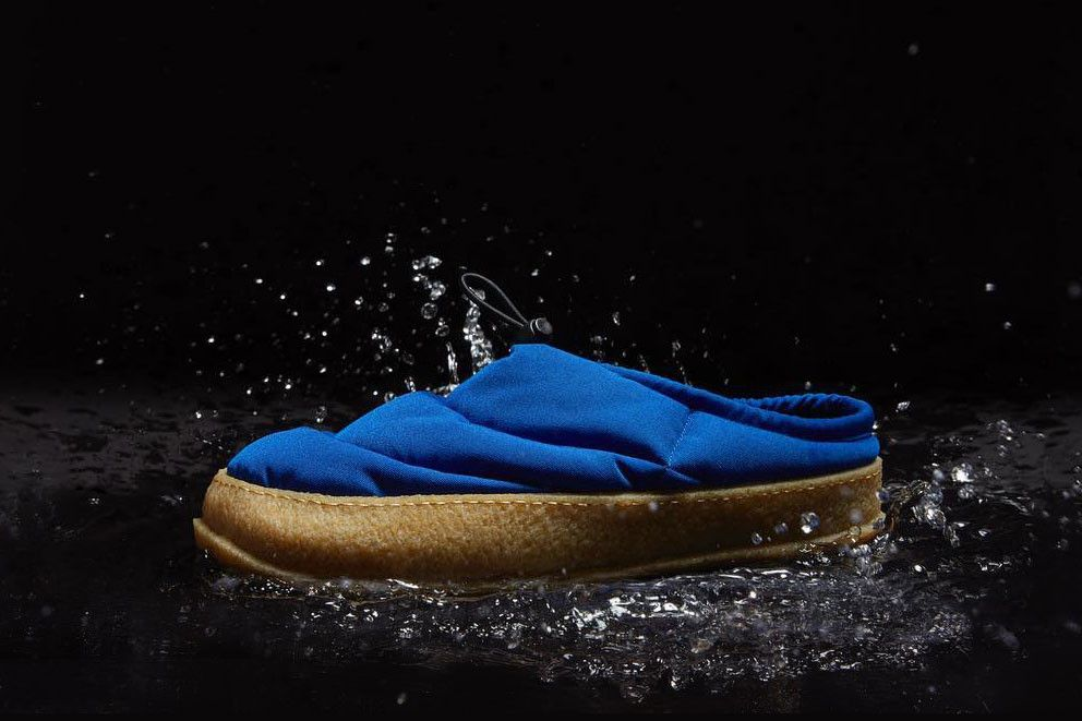 b798267e3c02 Maison Margiela Low Puffer Shoe Slipper black blue white release date price  info buy online