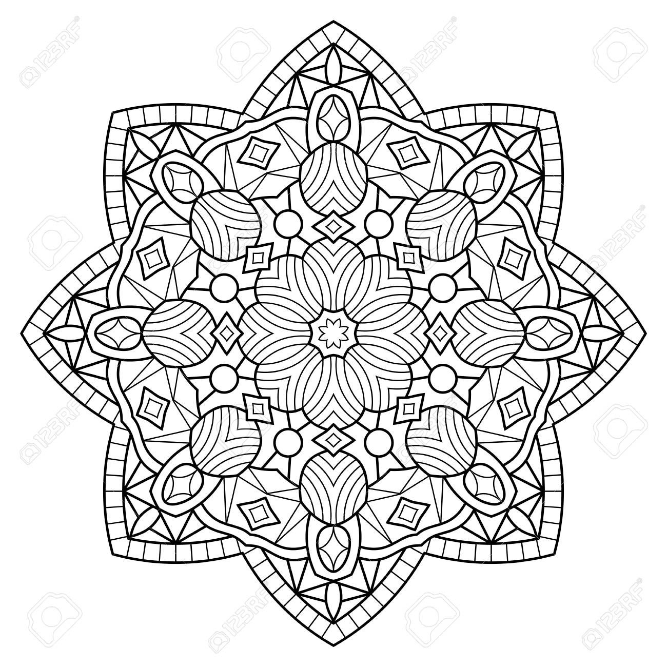 Flower Mandala Coloring Pages Coloring Pages Coloring Pages