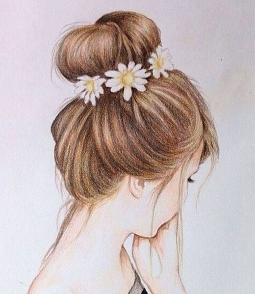 Beautiful girls pencil sketches dps