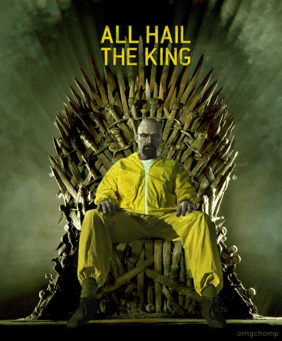 All Hail The King The Iron Throne Iron Throne Breaking Bad Concert Posters