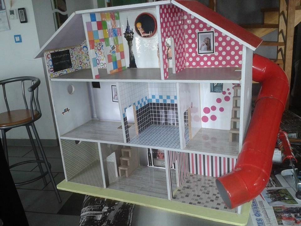 Expo photos des réalisations de maisons de poupées - Le nuancier de
