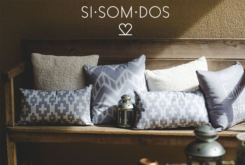 Disfruta la tarde con SISOMDOS. #sisomdos #pillows #design #interiordesign #deco #tarde #enjoy