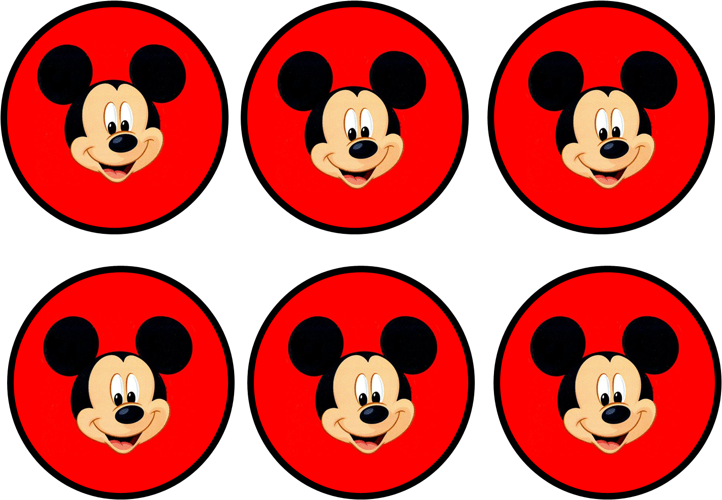 Mickey In Red Free Printable Party Kit Mickey Mouse Clubhouse Birthday Fiesta Mickey Mouse Mickey Mouse Birthday