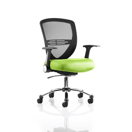 Charmant Avram Home Office Chair In Green With Castors | Office Furniture, Office Furniture  Warehouse And Office Furniture Online
