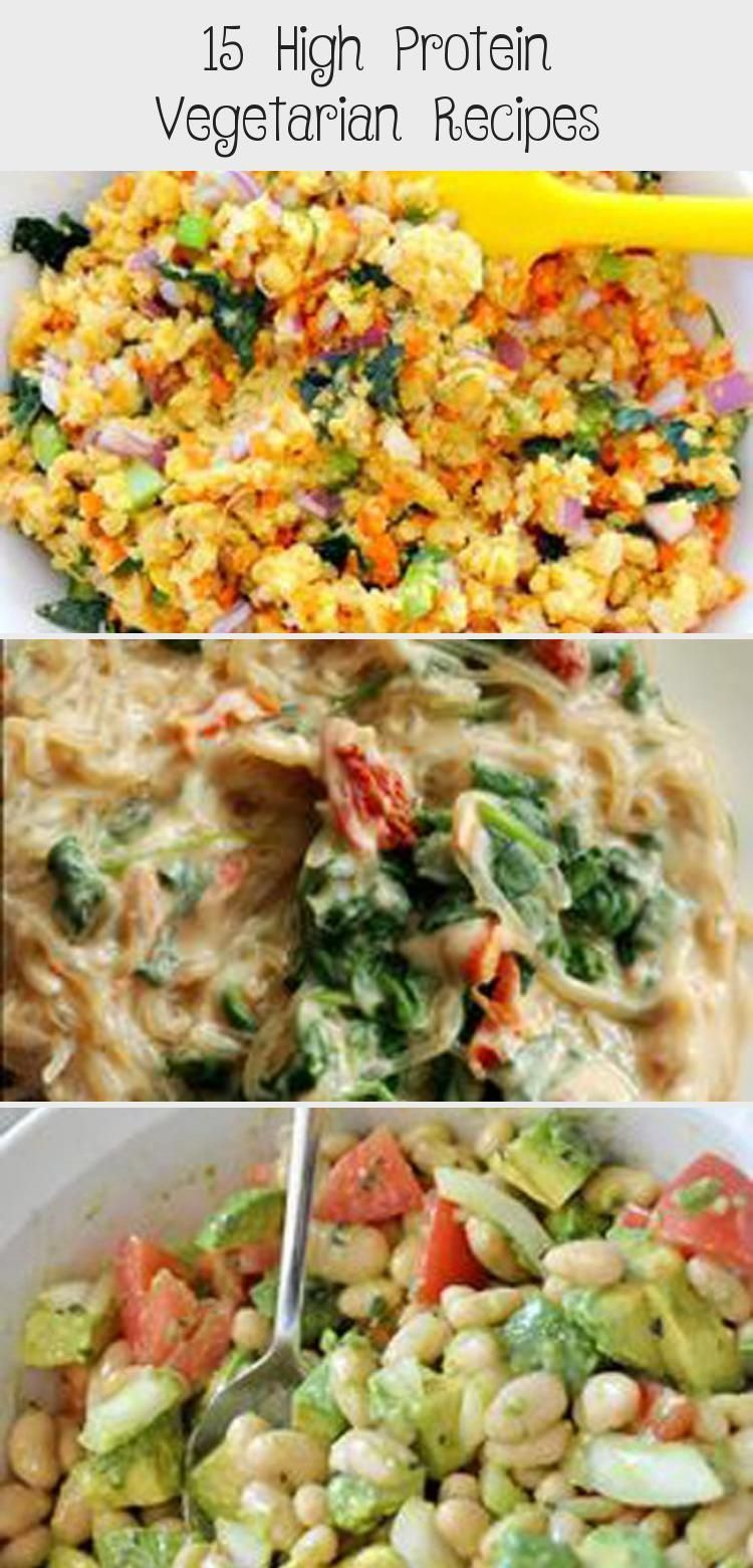 15 High Protein Vegetarian Recipes If youre following a vegetarian diet you n15 High P 15 High Protein Vegetarian Recipes If youre following a vegetarian diet you n