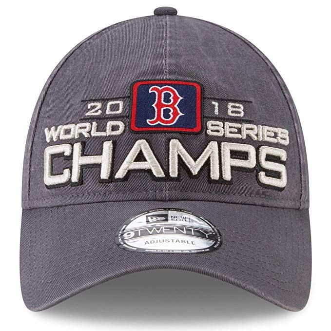 sale retailer 58f6b 6d379 where can i buy cheap new era boston red sox 2018 world series champions  920 adjustable