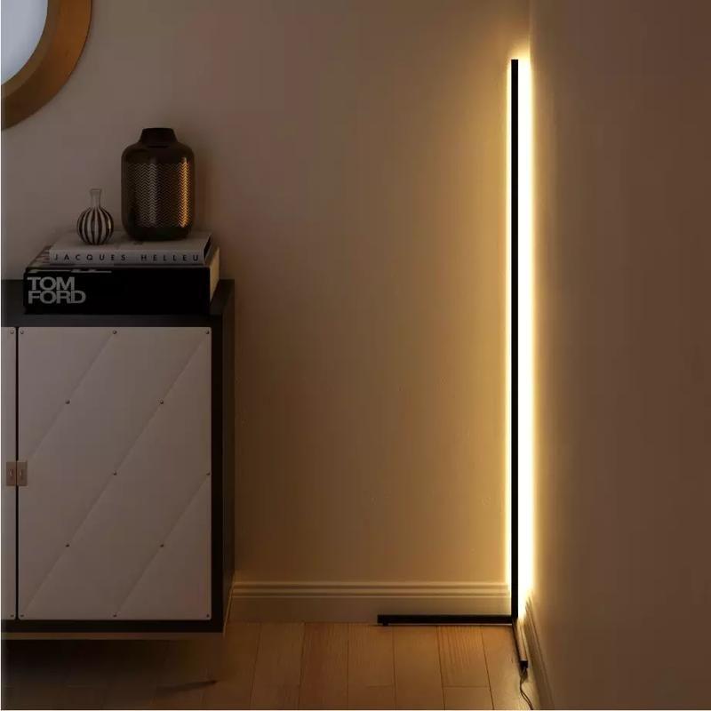 Cornor Minimal Modern Led Lamp Light Modern Motus In 2020 Floor Lamps Living Room Creative Flooring Led Floor Lamp