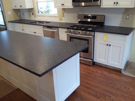 Black Leathered Granite Countertops   Google Search