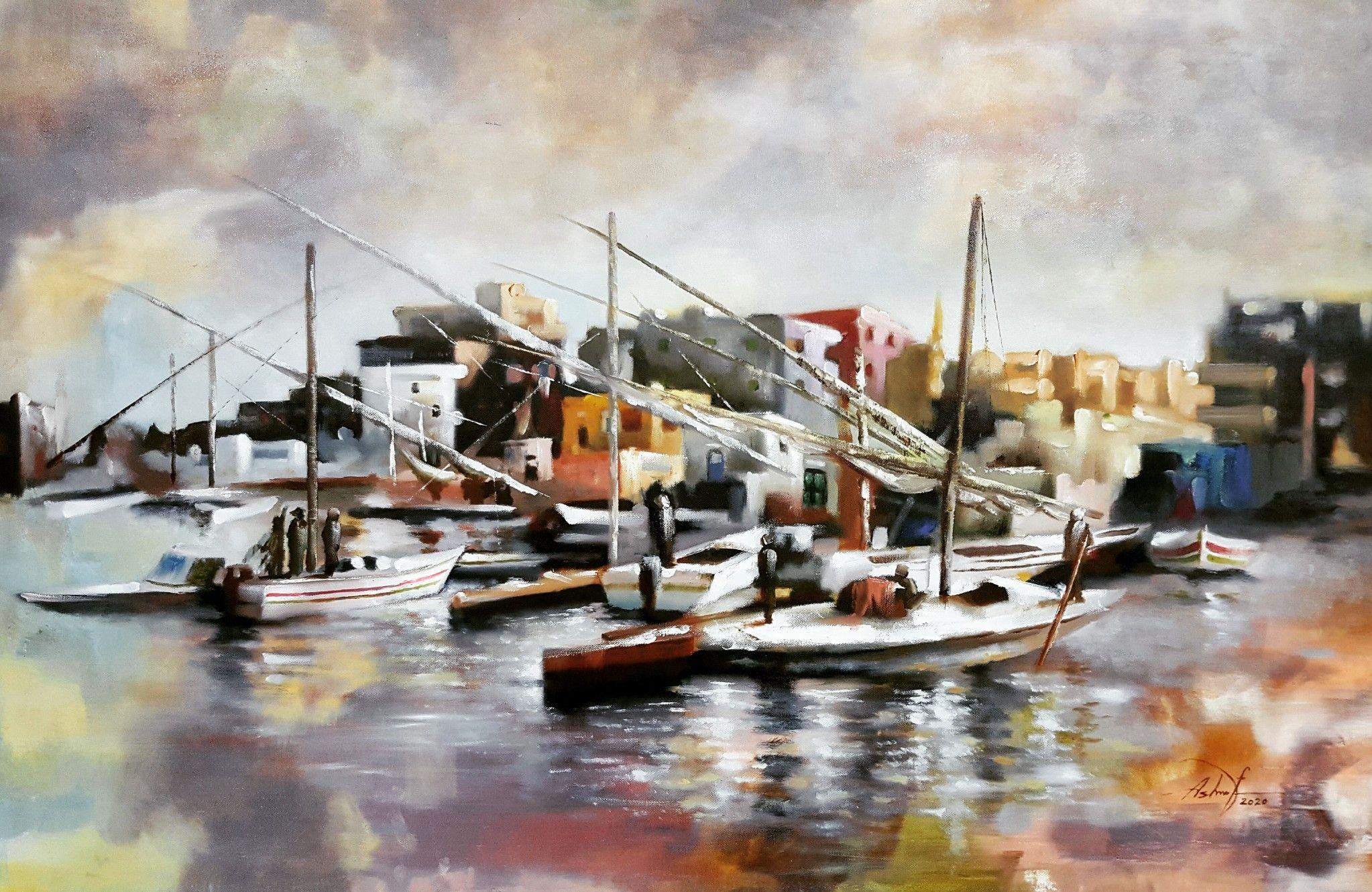 Ashraf Alazhary Egypt In 2020 Art Painting Egypt
