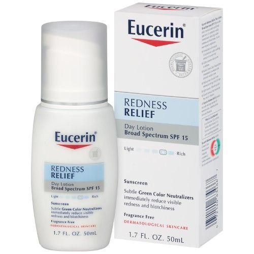 Eucerin Sensitive Skin Redness Relief Daily Perfecting Lotion 1 7 Fl Oz Multi Cleanser For Sensitive Skin Sensitive Face Moisturizer Skin Redness