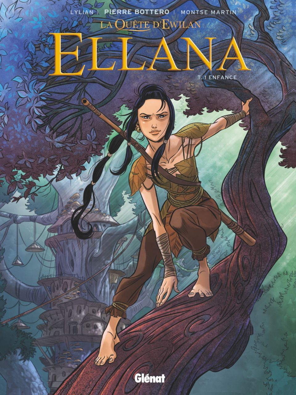 Ellana 1 Enfance Issue Tome Comics Fantasy Character Design