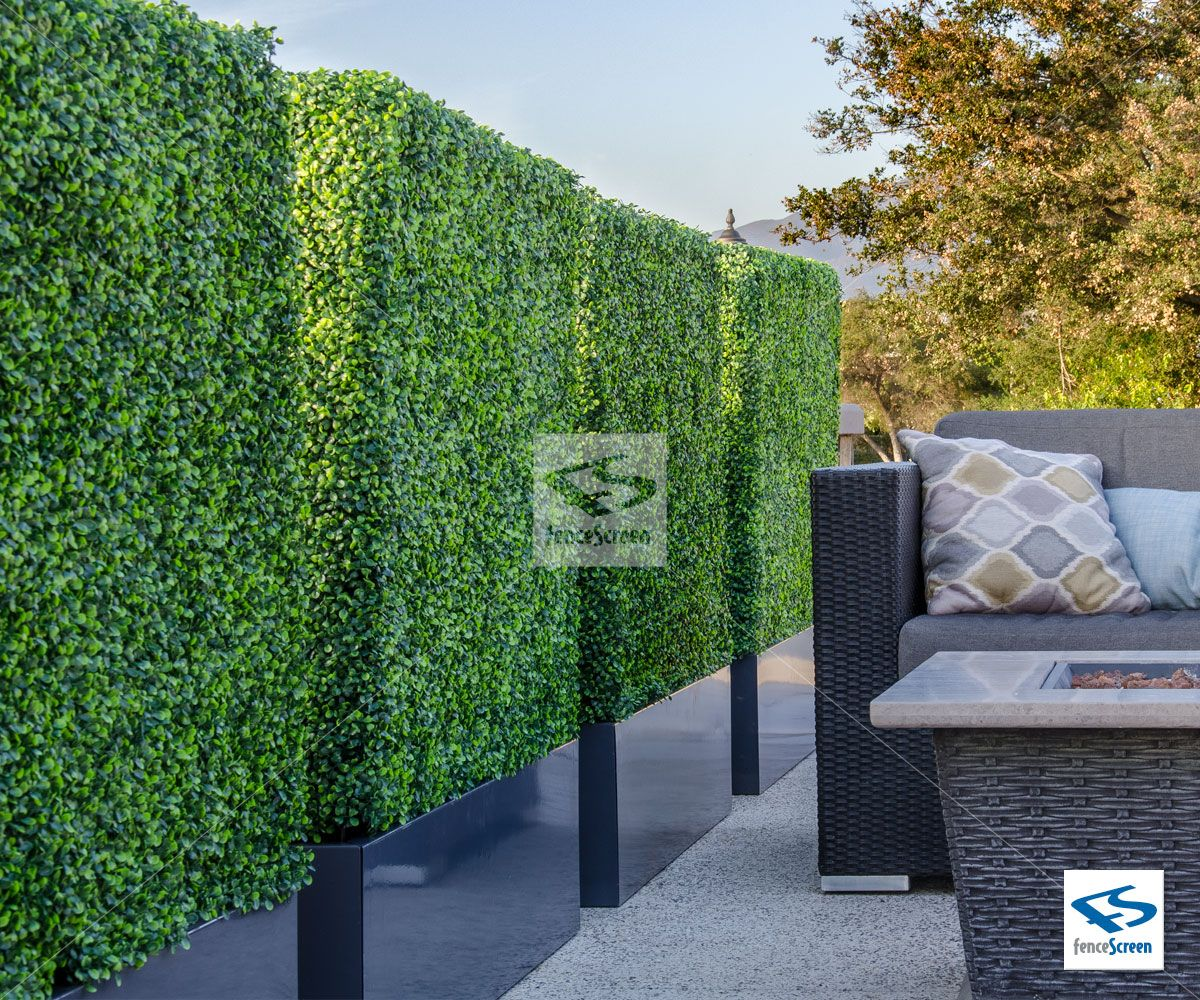artificial boxwood hedge baxter contemporary planter box on interior using artificial boxwood panels with flowers id=70789
