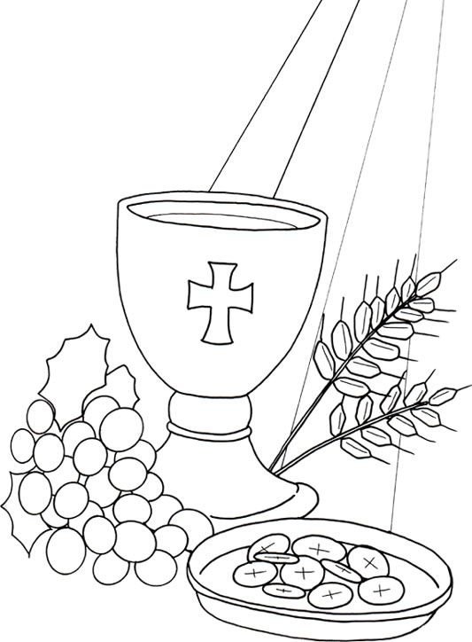 - First Holy Communion Coloring Pages By Bianca Free Easter Coloring Pages,  Easter Coloring Pages, Bunny Coloring Pages