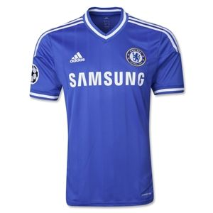 Chelsea 13/14 Authentic UCL Home Soccer Jersey - ChelseaMegastoreUSA.com
