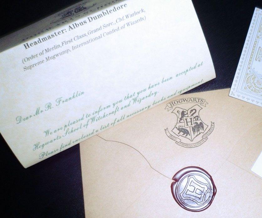 Hogwarts Acceptance Letter  Acceptance And Hogwarts
