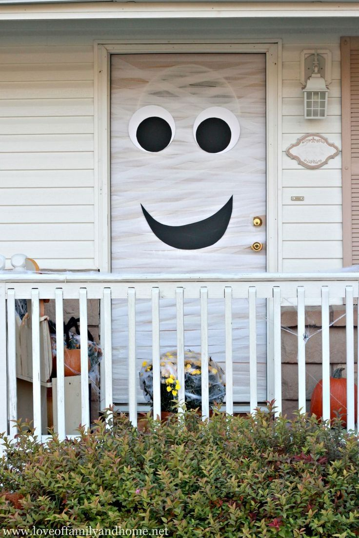 Halloween Decoration Ideas For Front Door   thewrightstuff - Front Door Halloween Decorations