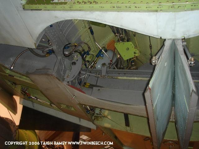 Me 262 main wheelwell