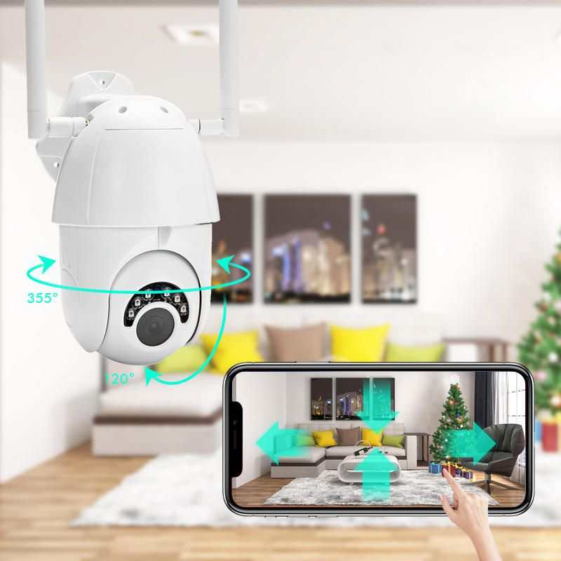 Wireless HD 1080P IR IP Outdoor Security Camera IP66 Home Surveillance Indoor US