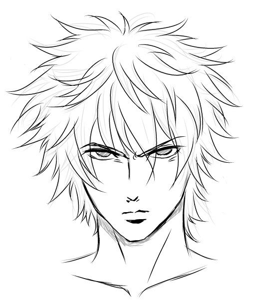 angry manga face | expression | Pinterest