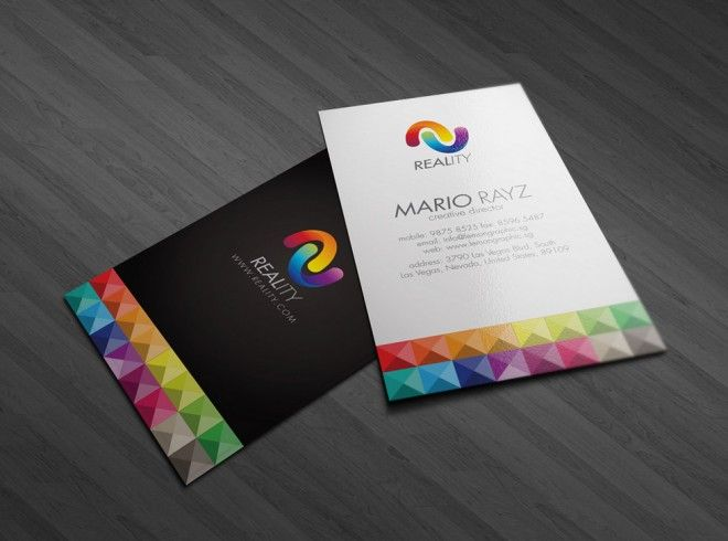 30 colorful business card design examples for your inspiration biz colorful business card multi color colourmoves