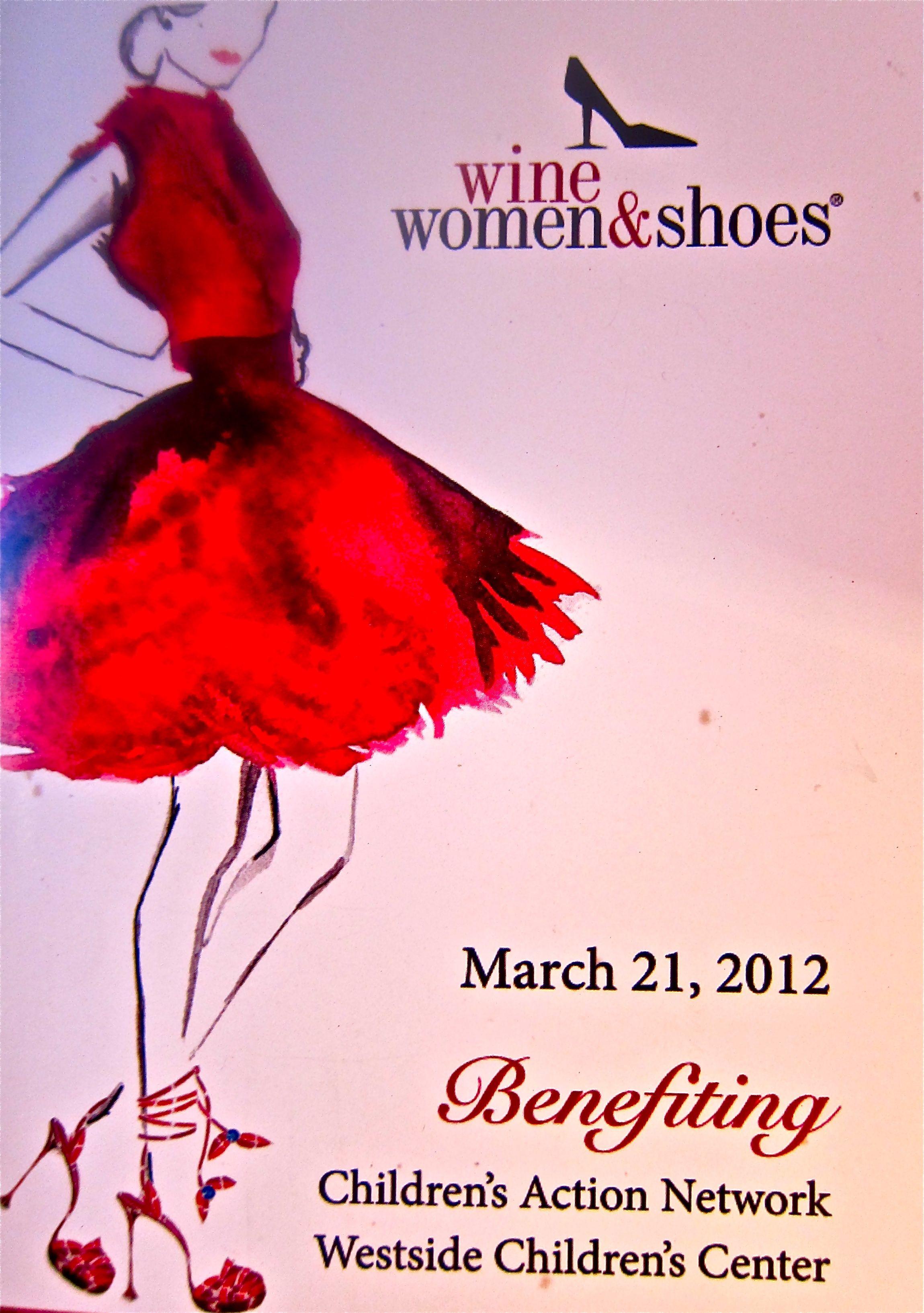Wine Women And Shoes Make For A Wonderful Charity Benefit Progetti Da Provare
