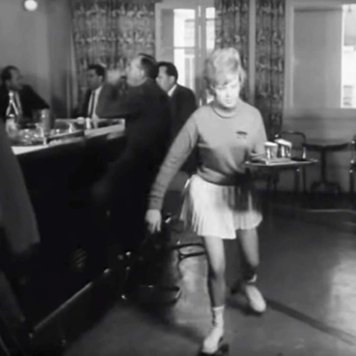 Perth's 1960s rollerskating waitresses 'never spilled a drop