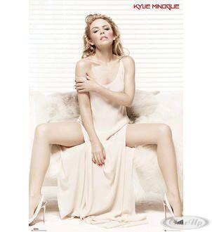 Kylie Minogue Poster White Dress Hier bei www.closeup.de
