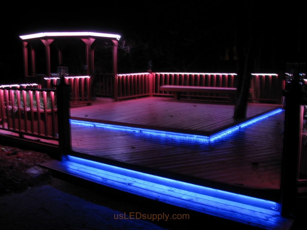 best cheap 9277d 142c9 LED strip lights mounted steps are practical and add a wow ...